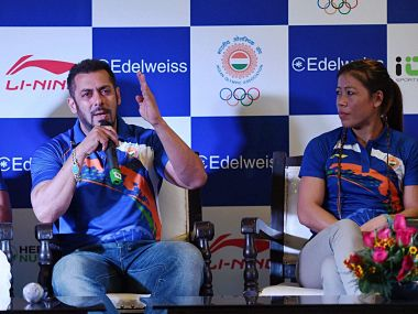 Each and every sportsperson in Indian Olympic contingent is a superstar: Salman Khan