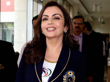 Reliance Foundation Chairperson Nita Ambani