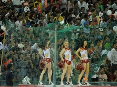 Crowds at the IPL. AFP