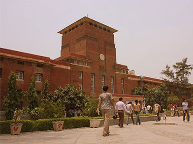 The JNU campus. Image courtesy: IBNLive