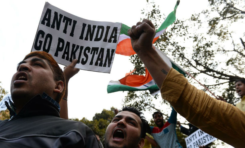 The JNU row took place after protests erupted against a pro-Afzal Guru event on 9 February. AFP