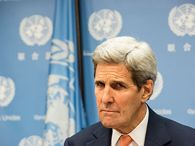 A file photo of US Secretary of State John Kerry. Getty Images