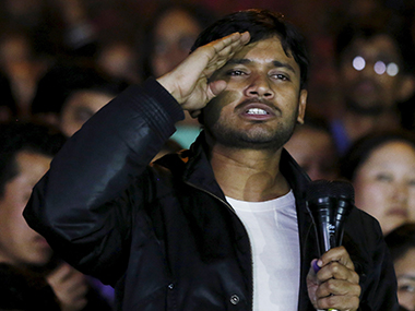 AAP govt and Delhi HC face off during hearing of pleas seeking cancellation of Kanhaiya's interim bail. Reuters
