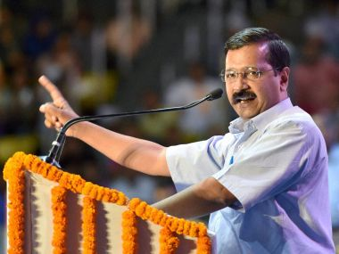 Delhi CM Arvind Kejriwal. PTI