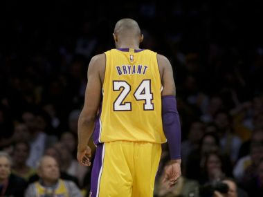 Kobe Bryant bids farewell to basketball with a performance for the ages. AP