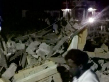 Many people were killed after an explosion took place at the Puttingal temple in Kollam, Kerala. AP