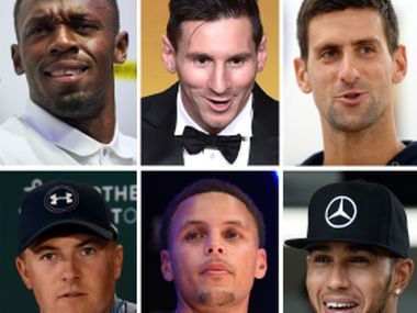 Contenders for Laureus Sports Awards 2016. AFP