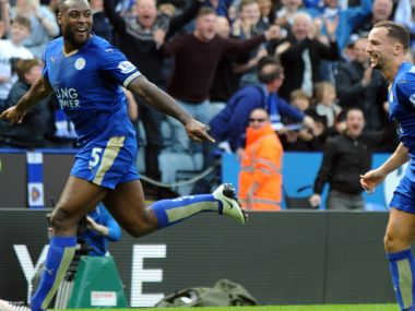 Captain Wes Morgan scored the lone goal against Southampton. AP
