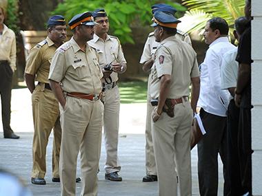 Maharashtra police. File photo. AFP