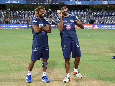 Lasith Malinga joined the Mumbai Indians squad and trained with them on Friday. BCCI