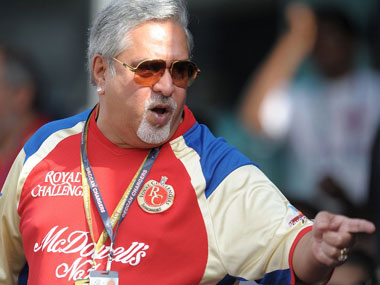 File photo of Vijay Mallya. AFP