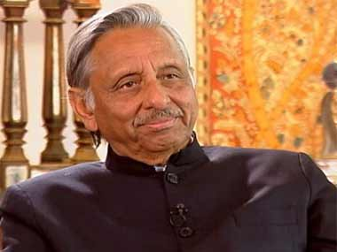 A file photo of Mani Shankar Aiyar. IBN Live