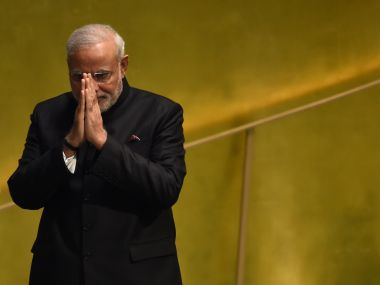 A file photo of Narendra Modi. AFP