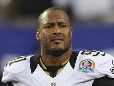File image of New Orleans Saints defensive end Will Smith. AP