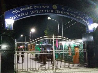 A file photo of NIT Srinagar. IBN Live