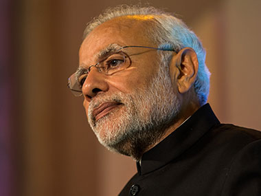 Narendra Modi. File photo. Getty images