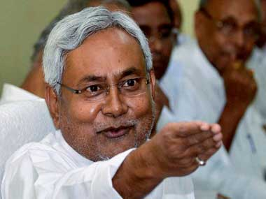 Bihars CM Nitish Kumar elected as the new JDU chief replaces Sharad Yadav