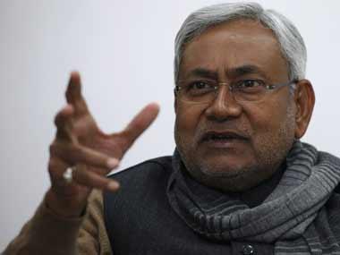 A file photo of Nitish Kumar. Reuters