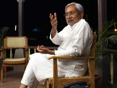 Bihar Chief Minister Nitish Kumar. Reuters