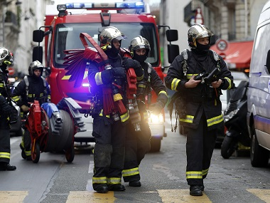 Representational image of Paris firefighters. AFP