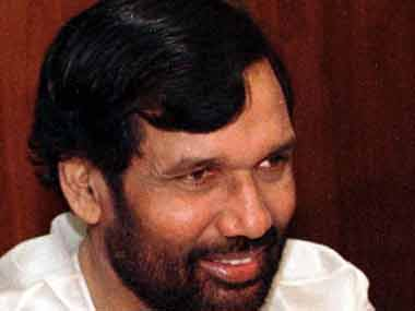 A file photo of Ram Vilas Paswan. Reuters