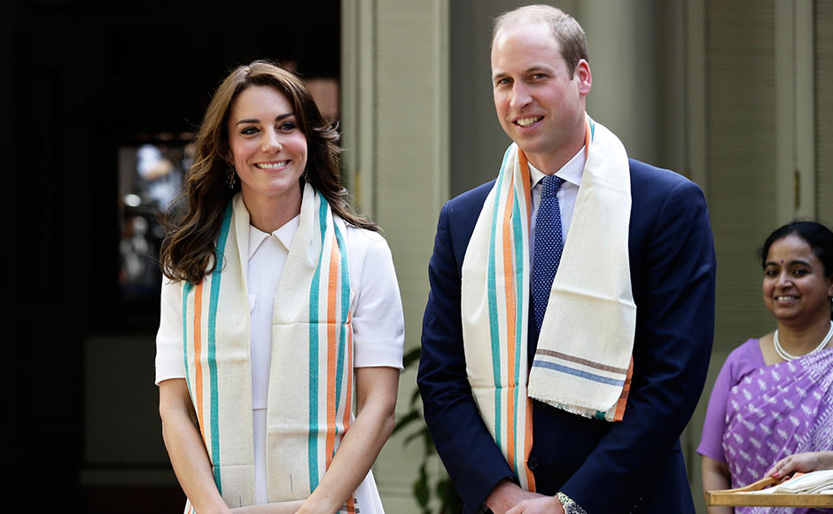 Royal Diaries On day 2 William and Kate pay tribute at Gandhi Smriti and India Gate war memorial