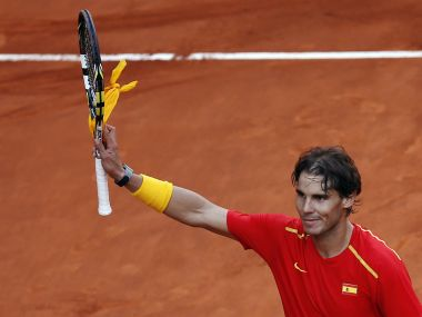 File photo of Spain's Rafael Nadal. Reuters