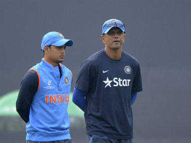 Rahul Dravid. Getty Images