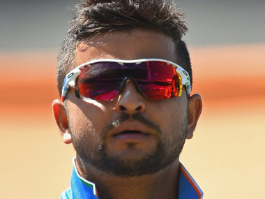 File photo of Suresh Raina. AFP