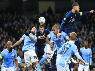 Real Madrid and Manchester City played out a slow-burning 0-0 draw. AFP