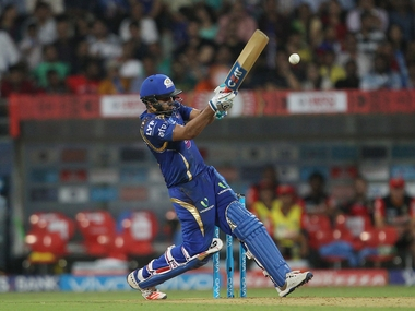 Mumbai Indians captain Rohit Sharma hit a half-century to lead his team to victory. BCCI