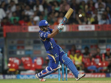 Rohit Sharma in action against RCB. BCCI