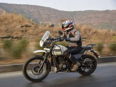 Royal Enfield's Himalayan. Image from Overdrive