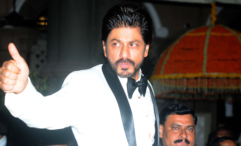 Shah Rukh Khan was the host for the evening, along with Aishwarya Rai Bachchan. Image by Sachin Gokhale