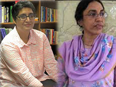 Sabeen Mahmud and Perween Rahman. Images from PTI, IBN