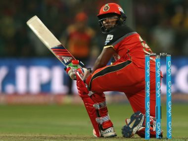Sarfaraz Khan played a wonderful cameo at the end of RCB's innings. Photo: BCCI