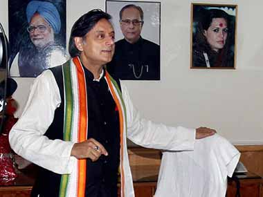 File photo of Congress MP Shashi Tharoor. PTI