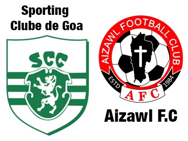 Sporting Clube de Goa Aizawl FC look to avoid relegation in upcoming ILeague clash