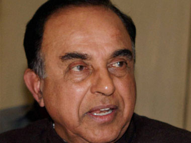 A file photo of Subramaniam Swamy. PTI