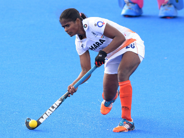 File photo of Indian Women's Hockey player and member of the Hawke's Bay Cup squad Sunita Lakra. Getty Images