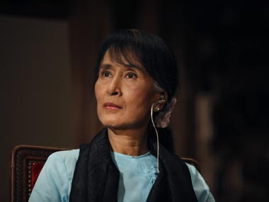 Rohingya crisis Aung San Suu Kyi likens issue to Kashmir calls for need to sift terrorists from innocent people
