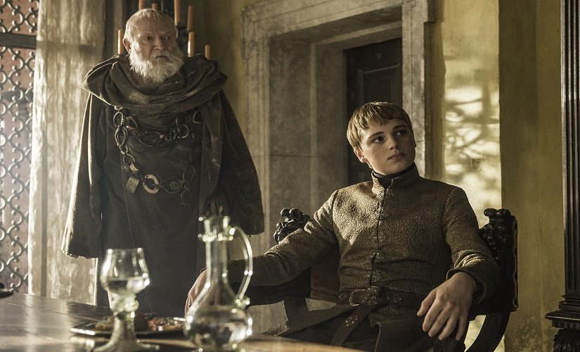 Tommen Baratheon. Game of Thrones, HBO and related service marks are the property of Home Box office, Inc. All rights reserved