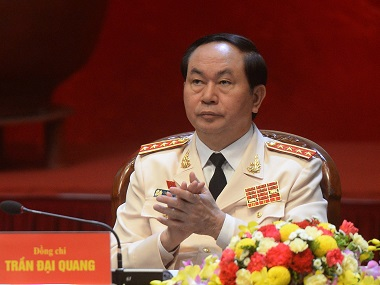 Vietnam elects police chief Tran Dai Quang as countrys new president