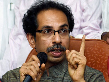 A file photo of Uddhav Thackeray. PTI