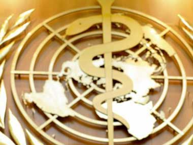 World Health Organisation. Representational image. AFP