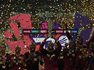 West Indies became the first team to win the ICC World T20 twice. AFP