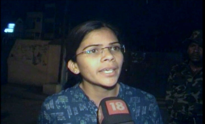 Allahabad University Students' Union president Richa Singh alleged that she faced harassment by HRD Minister Smriti Irani.