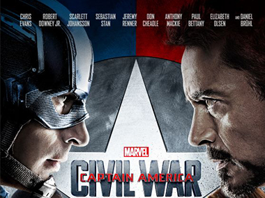 Poster of Captain America: Civil War