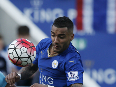 File photo of Danny Simpson. AFP