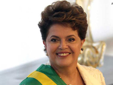 A file photo of Dilma Rousseff. AP